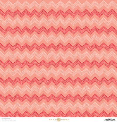 Anna Griffin Best In Show Chevron Coral