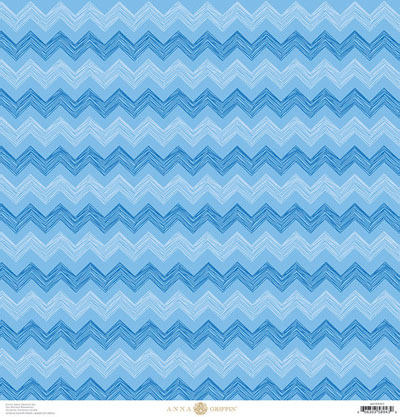 Anna Griffin Best In Show Chevron Blue