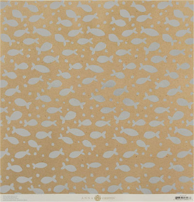 Anna Griffin Best In Show Fish Kraft Foil