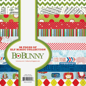 Bo Bunny Elf Magic 6x6 Paper Pad