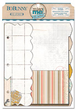 Bo Bunny The Avenues Journal Dividers