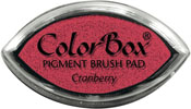 Clearsnap ColorBox Pigment Cat's Eye Cranberry