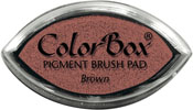 Clearsnap ColorBox Pigment Cat's Eye Brown