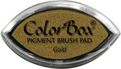 Clearsnap ColorBox Pigment Cat's Eye Gold Metallic