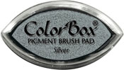 Clearsnap ColorBox Pigment Cat's Eye Silver Metallic