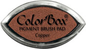Clearsnap ColorBox Pigment Cat's Eye Copper Metallic