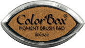 Clearsnap ColorBox Pigment Cat's Eye Bronze Metallic