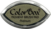 Clearsnap ColorBox Pigment Cat's Eye Platinum Metallic