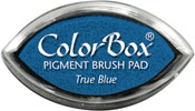Clearsnap ColorBox Pigment Cat's Eye True Blue