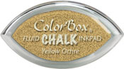 Clearsnap ColorBox Fluid Chalk Cat's Eye Ink Yellow Ochre