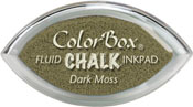 Clearsnap ColorBox Fluid Chalk Cat's Eye Ink Dark Moss