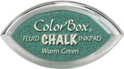 Clearsnap ColorBox Fluid Chalk Cat's Eye Ink Warm Green