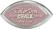 Clearsnap ColorBox Fluid Chalk Cat's Eye Ink Rose Coral