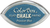 Clearsnap ColorBox Fluid Chalk Cat's Eye Ink Prussian Blue