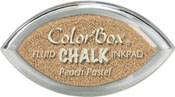 Clearsnap ColorBox Fluid Chalk Cat's Eye Ink Peach Pastel