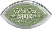 Clearsnap ColorBox Fluid Chalk Cat's Eye Ink Lime Pastel