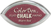 Clearsnap ColorBox Fluid Chalk Cat's Eye Ink Warm Red