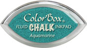 Clearsnap ColorBox Fluid Chalk Cat's Eye Ink Aquamarine