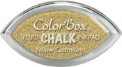 Clearsnap ColorBox Fluid Chalk Cat's Eye Ink Yellow Cadmium