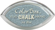 Clearsnap ColorBox Fluid Chalk Cat's Eye Ink Ice Blue