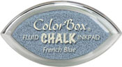 Clearsnap ColorBox Fluid Chalk Cat's Eye Ink French Blue