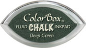 Clearsnap ColorBox Fluid Chalk Cat's Eye Ink Deep Green
