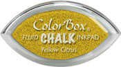 Clearsnap ColorBox Fluid Chalk Cat's Eye Ink Yellow Citrus