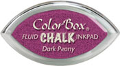 Clearsnap ColorBox Fluid Chalk Cat's Eye Ink Dark Peony