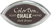 Clearsnap ColorBox Fluid Chalk Cat's Eye Ink Dark Brown