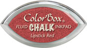 Clearsnap ColorBox Fluid Chalk Cat's Eye Ink Lipstick Red