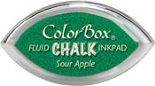 Clearsnap ColorBox Fluid Chalk Cat's Eye Ink Sour Apple