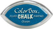 Clearsnap ColorBox Fluid Chalk Cat's Eye Ink Ocean