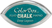 Clearsnap ColorBox Fluid Chalk Cat's Eye Ink Deep Lagoon