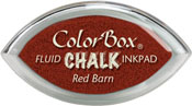 Clearsnap ColorBox Fluid Chalk Cat's Eye Ink Red Barn