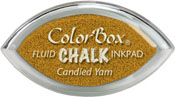 Clearsnap ColorBox Fluid Chalk Cat's Eye Ink Candied Yam