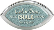 Clearsnap ColorBox Fluid Chalk Cat's Eye Ink Sea Crystal