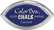 Clearsnap Fluid Chalk Cat's Eye Indpad Concord