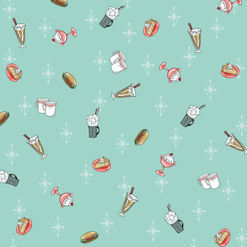 Cookbookin Mom's Finer scrapbook paper - recipe - food ...