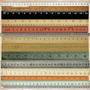 Kaisercraft Mister Fox Perforated Rulers Gloss