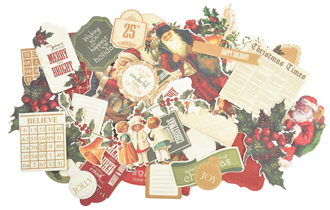Kaisercraft Yuletide Collectables Die-cuts