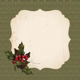 Kaisercraft Yuletide Traditions Foil