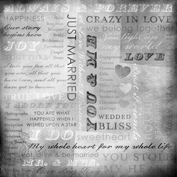 Karen Foster Our Wedding Story Just Married Collage