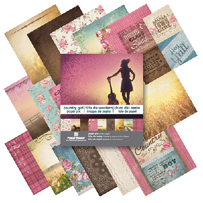 Paper House Productions Country Girl 6x6 Paper Pad