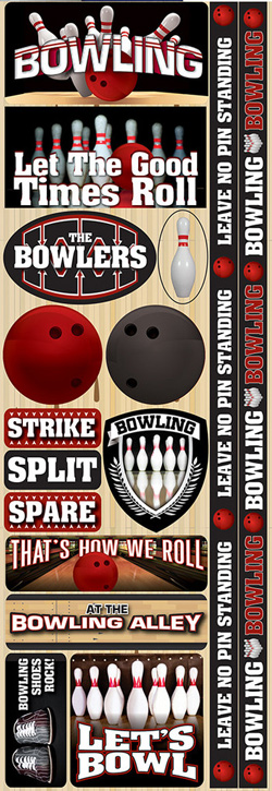Reminisce Real Sports 13 Bowling Sticker