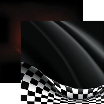 Reminisce Checkered Flag Let's Go Racing