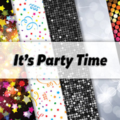Reminisce It's Party Time logo