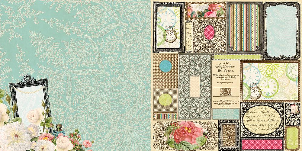 Красивые бумаги для скрапбукинга 157
